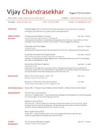 animation resume doc tk animation resume