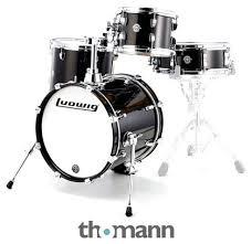 Ludwig <b>Breakbeats</b> Set <b>Black</b> Sparkle – Thomann UK