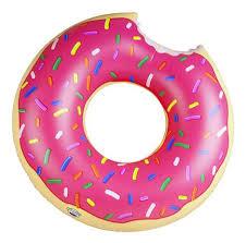 <b>Круг</b> для купания <b>BigMouth Strawberry</b> Donut