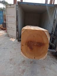 250 Brown Iroko <b>Wood Round</b> Logs, Rs 2400 /cubic meter, RSV ...