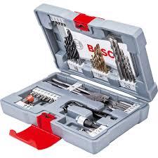 <b>Bosch 49</b> Piece <b>Premium</b> Power Tool Accessory Drill and ...