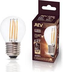 <b>Лампочка REV Deco Premium</b> Filament G45, Холодный свет 5 Вт ...