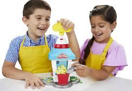 Кухня <b>Play</b>-<b>Doh</b> - <b>вечеринка</b> с <b>попкорном</b>!