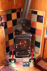 bend antique wood stove kitchen oven burning