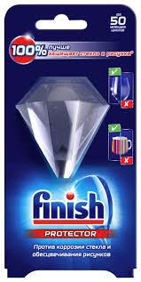 Finish <b>средство для защиты стекла</b> для посудомоечной машины ...