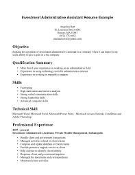 sample resume for office assistant administrative assistant resume executive assistant resume objectives
