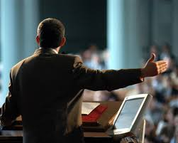 Image result for images preachers at pulpit with bible