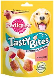 <b>Лакомство</b> для собак <b>PEDIGREE TASTY BITES</b> ароматные ...