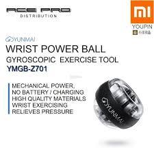 XIAOMI <b>YunMai Wrist Ball</b> - Mi Yun Mai Gyro Power Ball Exercise Tool