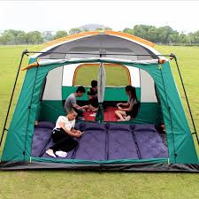 CUPCAMEL Outdoor Two-bedroom <b>Outdoor Camping Tent</b> for 8-12 ...