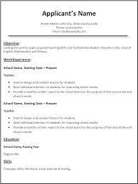 cv canada teacher formats free resume  seangarrette cocv