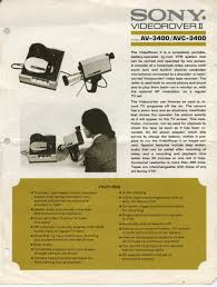 labguy s world sony av avc video rover ii advertising click to view full size back button to return advertising flyer