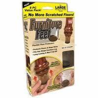 «<b>Защитные накладки для</b> ножек мебели Furniture Feet, 8 шт ...