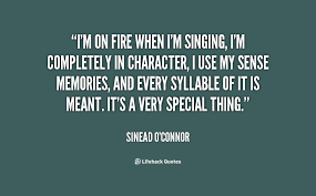 Image result for Singing quoted