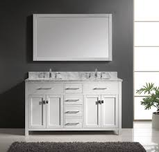 55 inch double sink bathroom vanity: bathroom vanities and sinks completing functional space designs