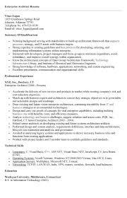 Enterprise Architect Resume | Free Resume Templates