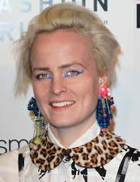 Louise Gray, designer GETTY. The Scottish designer's make-up collection, due in store in August, is rumoured to include a range of bright glitter pots and ... - louise-gray-designing-make-up-for-topshop_GB