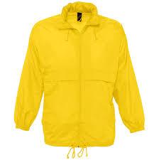 "<b>Ветровка</b>""Surf"", желтый_S, 100% нейлон, 210Т оптом под логотип"