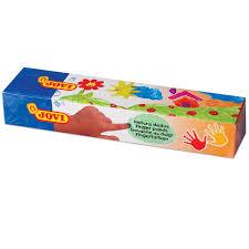 <b>Краски пальчиковые JOVI</b> (Испания), 5 цветов по 35 мл – купить ...