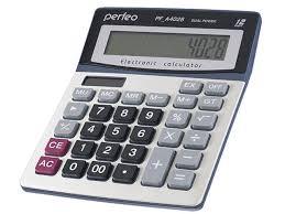 <b>Калькулятор Perfeo Silver PF A4028</b> - Агрономоff
