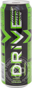 Купить <b>Напиток Drive me</b> Original <b>энергетический</b> 500мл с ...