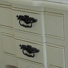 cream two 2 drawer bedside table vintage chic shabby french style distressed 7 eur 11261 7 de 9 chic shabby french style distressed
