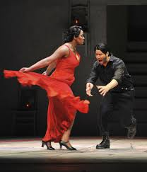 south florida classical review vocal fire overcomes furniture kendall gladen as carmen tempts adam