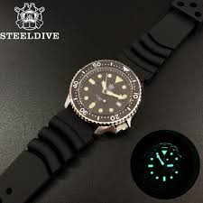 <b>Steeldive 1996 Japan</b> Skx007 Small Abalone 316L Stainless Steel ...