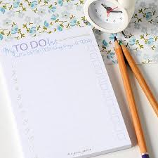 to do list note pads by the green gables com to do list note pads