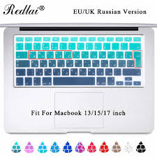 <b>Redlai</b> Silicone Keyboard Cover Skin For Macbook <b>New Pro 13</b> ...