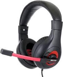 Гарнитура <b>GEMBIRD MHS</b>-<b>G30 Black</b>-<b>Red</b> - купить со скидкой до ...