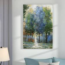Andover Mills '<b>Afternoon</b> Light' Oil Painting Print on Wrapped ...
