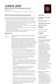 communications consultant resume samples   visualcv resume samples    marketing and communications consultant resume samples