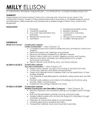 cover letter construction worker resume template construction job cover letter first job resume template templates for us first time no experience samples xconstruction worker