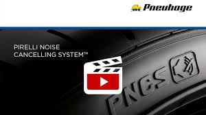 <b>PIRELLI NOISE CANCELLING</b> SYSTEM™ - YouTube