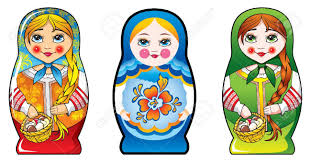 traditional russian matryoshka matrioshka dolls national style traditional russian matryoshka matrioshka dolls national style costume three diferent costumes