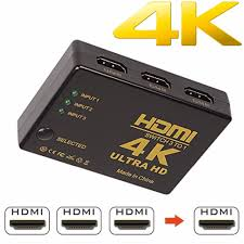 <b>4K</b> X 2K <b>HDMI</b> Splitter With <b>One Input</b> Two Outputs 3D Full HD ...