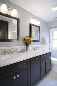 dual recessed mirrored medicine cabinets instead of our huge frameless glued to wall mirror bathroom recessed lighting ideas espresso