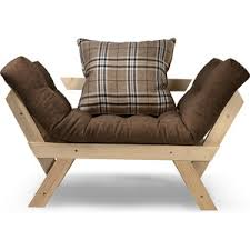 <b>Кресло</b> Anderson Отман сосна-коричневая рогожка – Telegraph