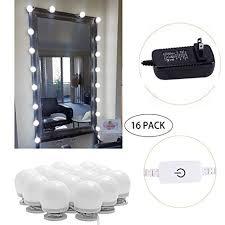 AIBOO Hollywood Style Lighted Vanity <b>Makeup Mirror</b>, <b>LED</b> Vanity ...