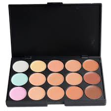 <b>1pcs 10</b>*15CM Concealer Neutral Palette 15 <b>color</b> Makeup <b>colors</b> ...