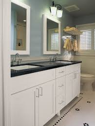white bathroom cabinets with dark countertops black and white bathroom furniture