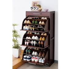 solid wood furniture wingover door shoe entranceway japanese style furniture cabinet paulownia furniture ultra thin building japanese furniture