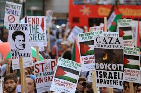 photo essay toronto es gaza ca the demands of the solidarity movement stop the assault and end the siege on gaza boycott i apartheid and end harper s complicity