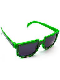 Солнцезащитные очки для детей пиксельные <b>Майнкрафт</b> ...