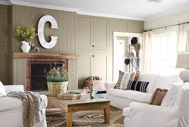 style rustic home decor chic living room