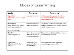 essay writing expository essay character analysis   ppt download modes of essay writing modepurposefound in exposition what is it and how does it
