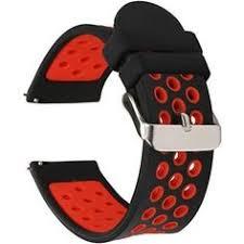 <b>ZLIMSN</b> Thick <b>Genuine</b> Leather Brown Black Watch Band Strap ...