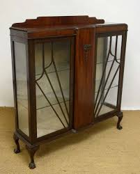 a 1930s walnut double display case with art deco sunburst this would make an amazing shoe art deco furniture lines