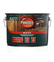 <b>Антисептик Pinotex Base</b> грунтовочный для дерева бесцветный 9 л